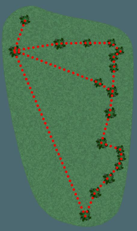 Nature Park Rød Klatrebane layout